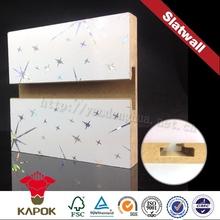doppie facce cultura texture della parete di ardesia di rivestimento esterno esposizione della mensola
