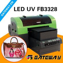 Arojet UV r1900 dx5 print head self-clean leather printing machine