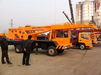 used KOTA TRUCK CRANE WITH 6T 7T 8T 10T lifting capacity