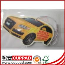 organic air freshener car,paper fragrance for car