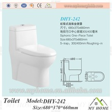 Cheap Price Bathroom one Pieces tandard toilet dimensions