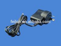 5W AU power adapter high quality 5v 1a wallmount power supply