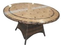 Garden Marble Top Table
