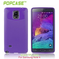 Business Type smart phone cover for samsung galaxy note 4 TPU case