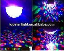 LED crystal magic ball /LED effect light/ led disco