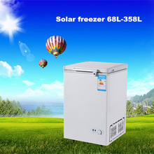 Hot selling 68L 12V DC solar chest deep freezer 12v dc freezer wholesale chest freezer