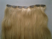 Straight Clip in Remy Human Hair Extensions,Beauty Salon Women's Accessories