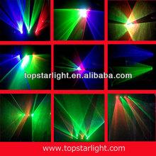 laser logo projector Four head RGB or RGBY or RGB+UV color laser