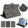 Leopard Leather Case for iPad Mini 1/2/3, for ipad cover