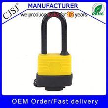 FACTORY SALE!! High Security waterproof long shackle lock in stock