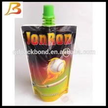 Plastic liquid packaging beverage spout pouch manufacturer