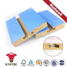 Melanine E1 board recyclable wide range of slatwall panel racks suppliers