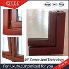 Aluminum and wood windows and doors,45 Degree Crimpping Workmanship