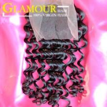 Best design hair product full cuticle human hair soft virgin natural part closure