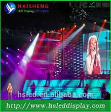 Plastic portable led display with high quality