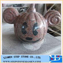 Garden granite stone animal sculpture