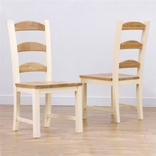 RCH-5097 Windsor Solid Ash and Cream Painted Pine Dining Chair