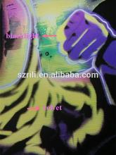 High Quality UV Blacklight Velvet Art Poster Printing