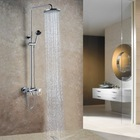 Rain Chromium Plated Exposed Shower Mixer AF804
