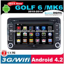 SharingDigital VWM-804GDA Built-in HD Digital Tv Function for VW Golf 6 Car Gps