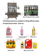 Automatic oil Filling Line/Edible oil/Vegetable oil
