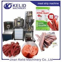 automatic popular Pet food meat strip machine