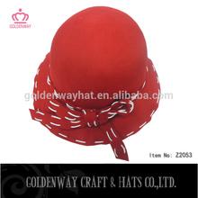 woman wool felt hat
