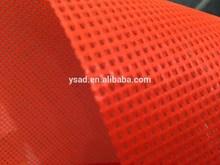 UV resistant vinyl flexible polyester mesh vinyl tarpualin,tennis court fencing mesh vinyl,windscreens and backstops mesh vinyl