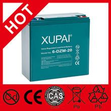 Bonne qualité batterie plomb - acide Scooter électrique batterie 12 V 20AH 6-DZM-20 180 * 76 * 170 MM 6.90KGS