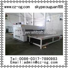 Single color chain corrugated paperboard printing slotting machine/carton printer slotter