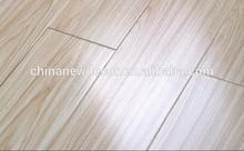 white oak color v-groove laminate flooring 12mm