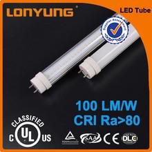 Factory Supply UL Canada russia t8 led tube