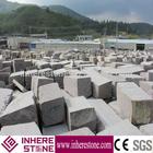 wholesale cheap g664 granite garden wall stone block