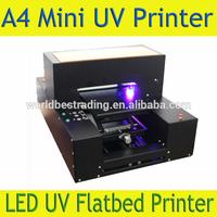 Mini A4 LED UV Flatbed Printer - -LED UV Flatbed Printer A4 DTG UV Printer