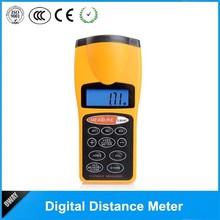 New CP-3007 LCD Ultrasonic Laser Meter Pointer + Distance Measurer Range 60FT 18M