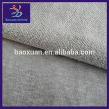 250-265gsm fleece fabric CVC 60/40 melange terry fabric