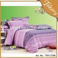 Baratos tecido de algodão com sentimento duvet cover conjuntos de cama por atacado folha& caso pilow
