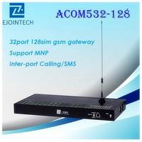 12 Months Warranty!! Ejointech hotsale ACOM532-128 / 32 channel 128 sim Gsm Gateway / unlock sim card free