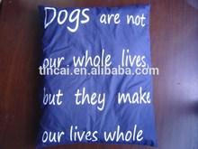 Silk Printing Popular Pet Cushion