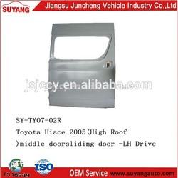 Auto Accessories Toyota Hiace Van Slide Door Left Hand Drive