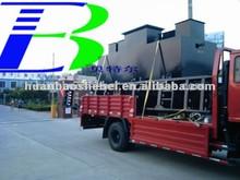 1CBM/h Domestic Waste Water Treatment Machine, Integrated sewage disposal plant