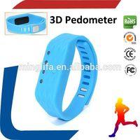 super mini pedometer/super design wristband pedometer/step counter