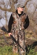 Winter camo fishing vest sleeveless winter vest