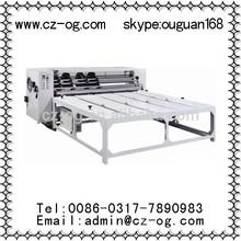 carton box rotary die cutting machine with competitive price,carton box making machine prices