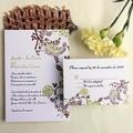romantico elegante nozze invito stampa carta