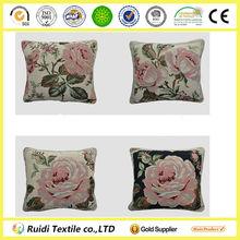 Beautiful Printed Throw Pillow Cover, Digital Jacquard Decorative Cushion, Sofa Cushion Pillow