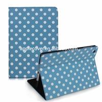 Polka Dot Leather cover for iPad Mini 1/2/3,for ipad cases