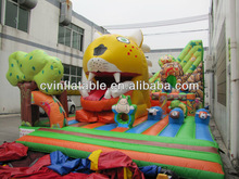 outdoor inflatable animal kingdom jumper bouncer ;funny bouncer