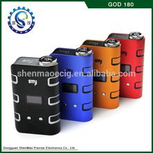 2014 alibaba china suppliers smart e vaporizer e cigarette God 180 mod