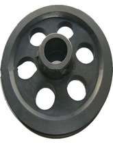 Guide rope pulley
